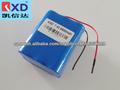 Batería de iones de 7.4v 6600mah li KXD recargable de China
