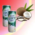 bebida natural del jugo del coco