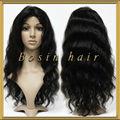 nueva llegada real brasileño cabello humano pelucas negro para las mujeres