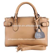 bolsas de couro lady marrom, bolsas de couro mais barato por atacado de China