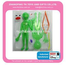 elástico de esqueleto de halloween juguetes