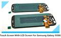 montagem original vidro tela LCD sensível ao toque para Samsung S3 cor preto branco com moldura