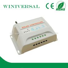 20a pwm controlador de carga solar 12/24v manual de reconocimiento automático regulador de carga