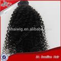 el precio de fábrica al por mayor afro rizado cabello humano para trenzar
