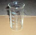 formulario de altura de vidrio vaso de precipitados