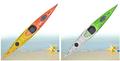 Razonable Precio Single Kayak de Mar
