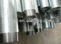 galvanizado roscado de tubos de acero
