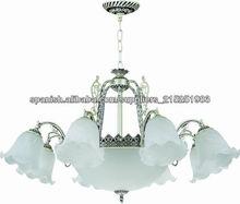 Murano lámpara de cristal de color