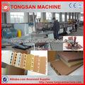 pp pe pvc wpc perfil de linha de produção de madeira plástica máquina