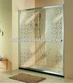 hpfs12 8mm templado de vidrio multicolor corredera puerta de la ducha para el baño