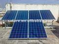 de alta calidad 245w poli paneles solares para el sistema solar