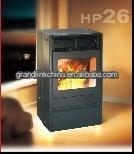L'environnement de la biomasse pellet cheminée avec du ce
