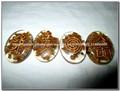 Jade Oval Orgone Usui Yellow Set