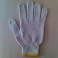 Calibre 7/10 guantes de mecánico de algodón guante blanco que hace punto