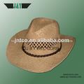 nuevo 2014 handweave paja de la rafia sombreros de vaquero