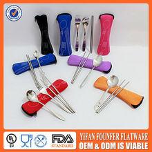 cucharas de acero inoxidable par para el regalo promocional