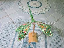 Regalos artesanales de bambú de bambú moderna libélula vietnam