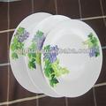 prato de jantar de porcelana, pratos de porcelana restaurante, placa cerâmica rodada