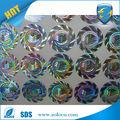 venta caliente de la marca de protección holográfico personalizado letras adhesivas pegatinas