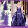 Sa-q883 zuhai murad apliques real de la muestra vestido de noche 2014 nuevos productos