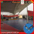 quadra de basquete de plástico telha de plástico