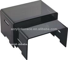 Conjunto de acrílico 3 de anidación mesa/profesional de diseño de la tabla de acrílico, color de la tabla de acrílico