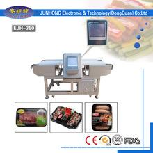 pollo/mariscos/carnes congeladas maquinas detectoras de metales