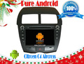 Puro Android 4.2 CITROEN C4 Aircross coche DVD GPS con pantalla capacitiva Multi Touch, Flash A9 1GHz de doble núcleo