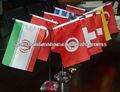 banderas de mesa poliéster