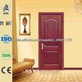 Zhejiang AFOL MDF puerta de madera maciza
