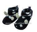 Caliente! Forma animal de suela blanda de moda zapatos de bebé