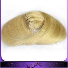 Un cabello hermoso color con la estancia de la cutícula del pelo # 613 mano el pelo liso atado