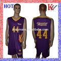 La costumbre de baloncesto jersey y pantalones cortos/fabricantes de ropa de deporte