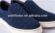Mano de cuero auténtico- hecho de moda zapatos de la junta ourdoor no- deslizamiento zapatos ocasionales