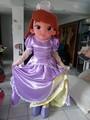 Princesa traje de la mascota/un disfraz de carnaval