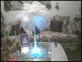 luz llevada decorativa de la Navidad