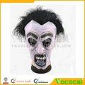 de miedo de goma suave zombie máscara de halloween para el partido cosplay baile de máscaras de carnaval