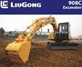 CLG908CIIl liugong mini excavadora hidráulica con motor de Yanmar mini excavadora chino para la venta