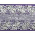 16-20 cm de nylon con spandex elástico encajes finos para lencería
