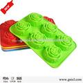 /fda lfgb certificação ferramentas bolo personalizado eco- friendly bolo silicone molde