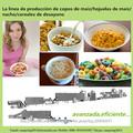 La línea de producción de copos de maíz/hojuelas de maíz/nacho/cereales de desayuno