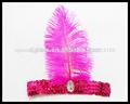 pluma accesorios para el cabello bandas para el cabello de las niñas y los niños