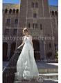 2014 vestido de noiva sensuais novo design de gola V de manga comprida de renda vestidos de noiva de seda bo2664