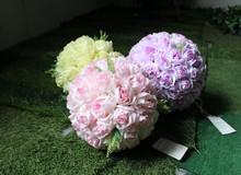 30cm bola de flores artificiales de la boda flor de bolas