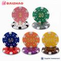fichas de poker material ABS de alta calidad, fichas poker de casino