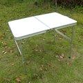 mesa de camping de aluminio doblar mesas