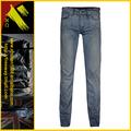 Moda 2014 lavado denim urbano estrella de dril de algodón pantalones vaqueros de los hombres( xc- 00548)