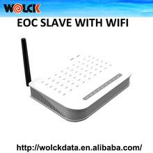 wolck china proveedor de televisión por cable wifi esclavo de economía de comunión con 4 puertos