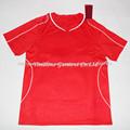 a medida sublimada camiseta de fútbol etiqueta de los uniformes del equipo de fútbol de la camisa