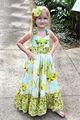 El último vestido de navidad Vestidos de fiesta para los niños de las muchachas se visten